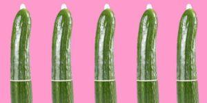 کاندوم را تا انتها پایین بکشید