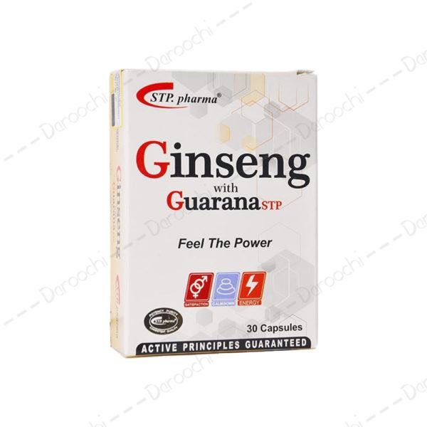 کپسول جینسینگ گوارانا اس تی پی فارما | Ginseng-guarana-STP-pharma