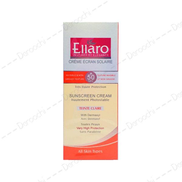 ellaro-sunscreen-cream-50spf-dermaxyl-hautement-photostable