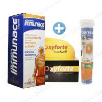 پکیج تقویت سیستم ایمنی | immunace-oxyforte-hansal