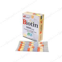 کپسول بیوتین 5000 اس تی پی فارما | STP Pharma Biotin 5000 Mcg 30 Caps