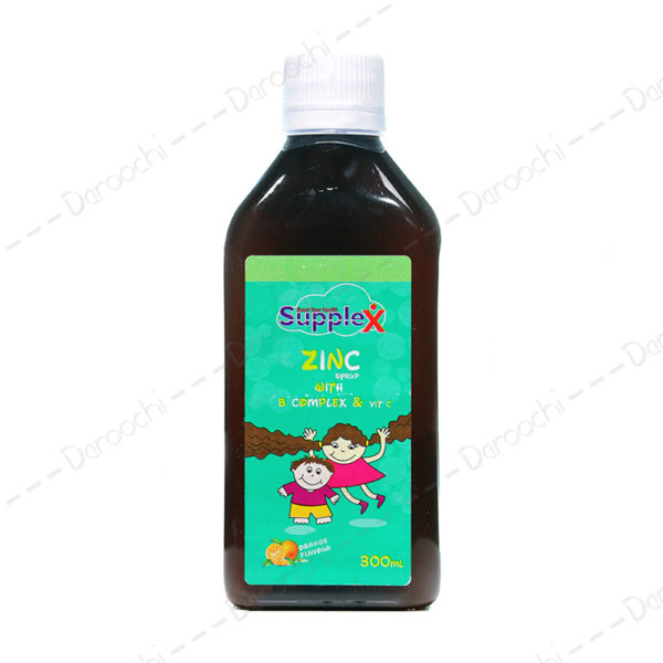 Supplex zinc kids syrup