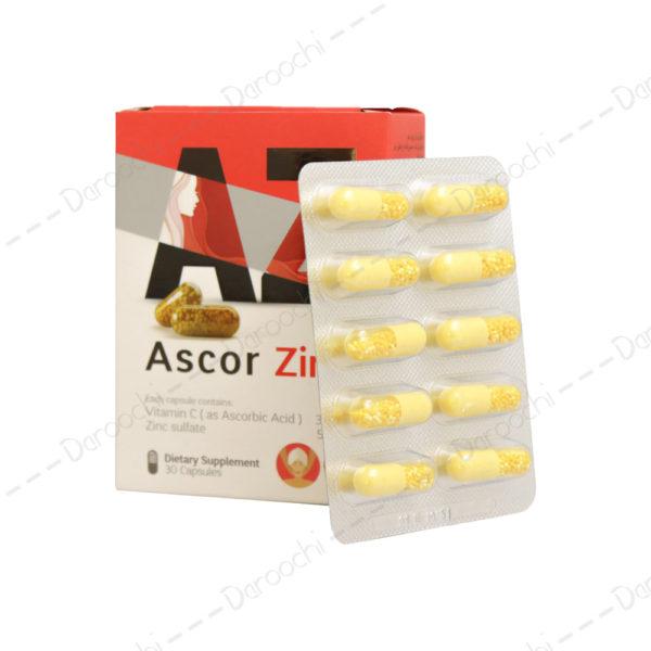 کپسول-اسکور-زینک-تسنیم-Ascor-Zink