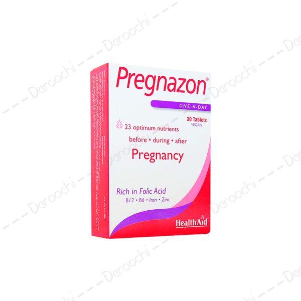 قرص پرگنازون هلث اید | health Aid pregnazon