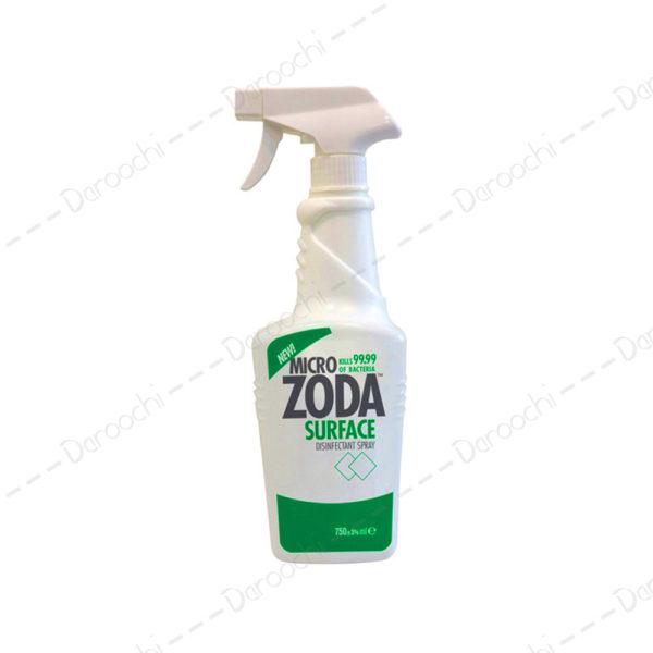 اسپری ضدعفونی کننده میکروزدا 3 در 1 | micro zoda surface 3.1