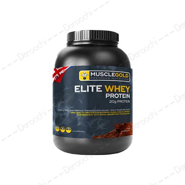 پودر پروتئین الیت | muscle gold eliet