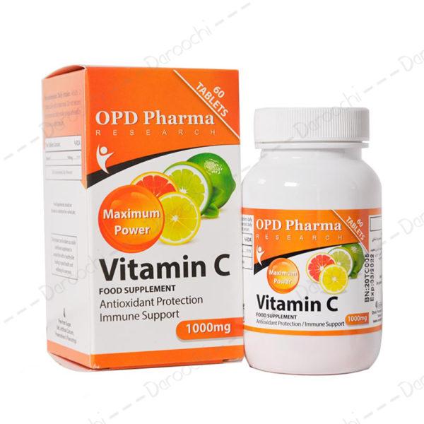 او پی دی فارما ویتامین ث 1000
