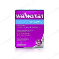 مولتی ویتامین مخصوص بانوان ول وومن | wellwoman-original-30tab-vitabiotics