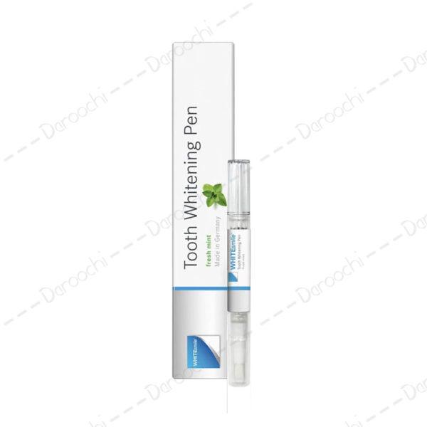 قلم سفید کننده دندان وایت اسمایل | whitesmile pen mint