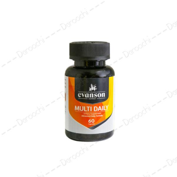 کپسول-مولتی-دیلی-اونسن-نوتریشن-Evanson-Nutrition