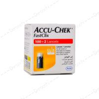سوزن تست قند خون اینستنت اکیو چک | Accu Chek Instant Fast Clix