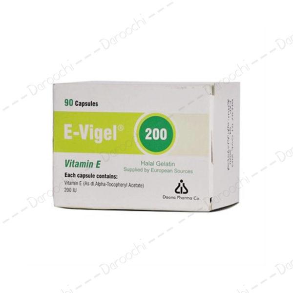 کپسول-ویتامین-E-200-ایویژل-دانا-فارما-E-Vigel