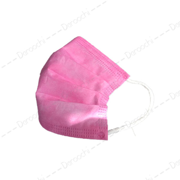 Pink 3 layer mask