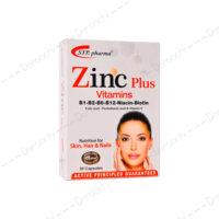 کپسول-زینک-پلاس-همراه-ویتامین-اس-تی-پی-فارما