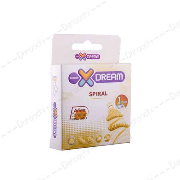 x dream Spiral condom