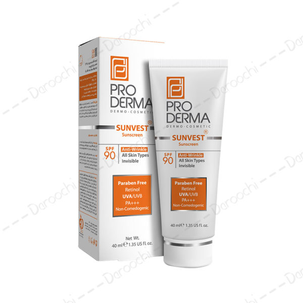 proderma sunvest sunscreen spf90