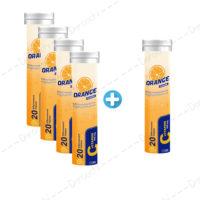 vitamine c 500 eff sinapishgam 4 plus 1 package
